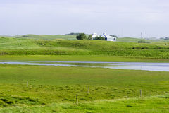 美丽的冰岛,好夏天天气 免版税库存照片