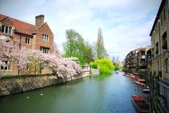 美丽的剑桥 库存图片