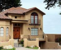 美丽的加利福尼亚房子 免版税库存图片