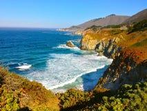 美丽的加利福尼亚海岸 免版税图库摄影