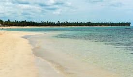 美丽的加勒比海洋 图库摄影