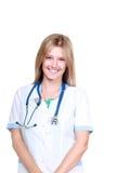 美丽的医生年轻人 库存照片