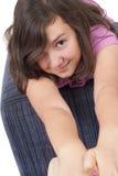 美丽的十几岁的女孩 图库摄影