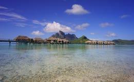 美丽的博拉博拉岛 免版税库存照片