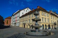 美丽的卢布尔雅那,斯洛文尼亚 免版税库存照片