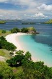 美丽的印度尼西亚海滩 库存照片