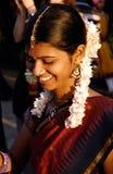 美丽的印第安夫人 库存图片