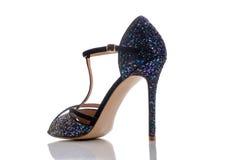 美丽的发光的凉鞋 免版税库存图片