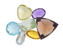 美丽的发光的宝石 免版税图库摄影