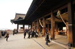 美丽的古老佛教寺庙 库存图片