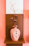 美丽的古老花瓶 免版税库存图片