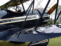 美丽的古董YMF-5韦科双翼飞机 免版税库存图片
