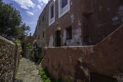 美丽的古镇莫奈姆瓦夏 库存图片