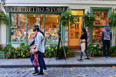 美丽的商店前面门面 库存图片