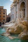 美丽的喷泉晚上罗马trevi 免版税库存图片