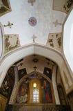 美丽的图画在Vank大教堂,伊斯法罕,伊朗里 免版税库存图片