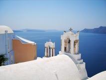 美丽的圣托里尼海岛希腊 免版税库存图片