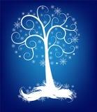 美丽的圣诞树 向量例证