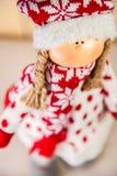 美丽的圣诞节玩具 库存图片