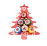 美丽的圣诞节球 免版税库存图片