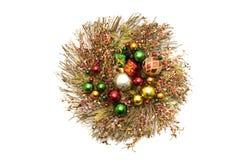 美丽的圣诞节装饰品 免版税图库摄影