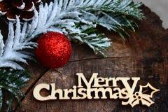 美丽的圣诞节装饰 免版税库存照片
