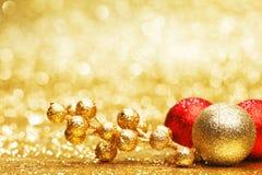 美丽的圣诞节装饰 免版税图库摄影