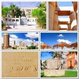 美丽的埃及的拼贴画 免版税库存照片