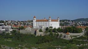 美丽的城堡在布拉索夫在斯洛伐克 库存照片