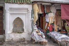 美丽的城市在北摩洛哥, Tetouan 免版税图库摄影