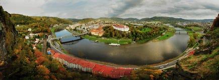 美丽的城市的看法 库存照片
