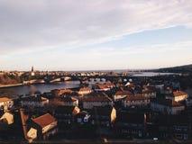 美丽的城市 图库摄影