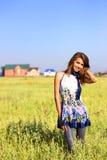 美丽的域女孩 图库摄影