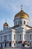 美丽的基督・莫斯科救助者寺庙 免版税库存照片