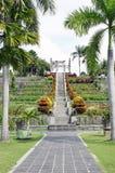 美丽的塔曼Ujung庭院在巴厘岛 库存图片
