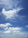 美丽的多云天空 免版税库存照片