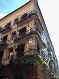 美丽的大厦在西班牙的乡下 免版税库存照片