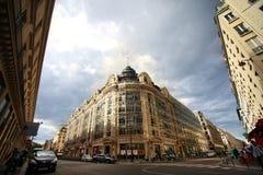 美丽的大厦在巴黎 免版税库存照片
