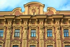 美丽的大厦的片段 库存图片