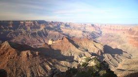 美丽的大峡谷国家公园的鸟瞰图从那瓦伙族人点的南外缘 影视素材