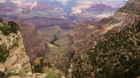 美丽的大峡谷 库存照片