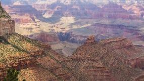美丽的大峡谷 库存图片