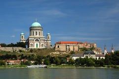 美丽的大教堂Esztergom 免版税库存图片