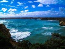 美丽的大洋路,维多利亚,澳大利亚的惊人的看法 库存图片