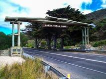 美丽的大洋路,维多利亚,澳大利亚的惊人的看法 免版税图库摄影