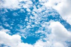 美丽的天空和云彩 图库摄影