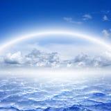 美丽的天空,天堂 免版税库存照片