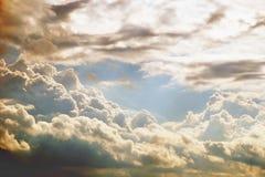美丽的天空 图库摄影