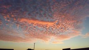 美丽的天空 免版税库存图片
