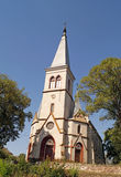 美丽的天主教会在Strusiv 免版税库存图片